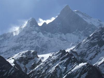 Jusqu'au Camp de Base des Annapurna