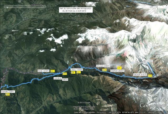 DSCF9997  treks du sanctuaire des Annapurna