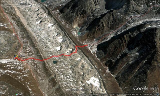 Camp du Khumbu Lobuche