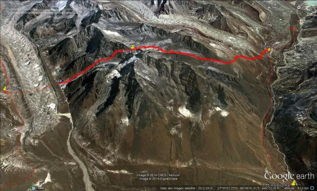 Chukhung Camp du Khumbu